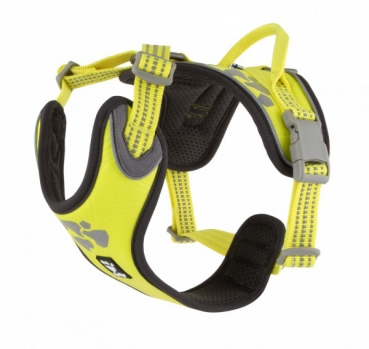 Hurtta Geschirr Weekend Warrior harness lemon neon