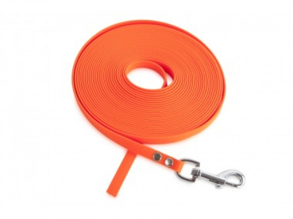 Firedog BioThane Schleppleine 13 mm orange