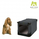 MAELSON faltbare Hundebox Soft Kennel 72 anthrazit